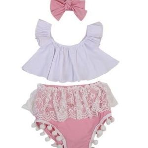 Other - Vacation? three piece outfit 12 mo x2., 3T.